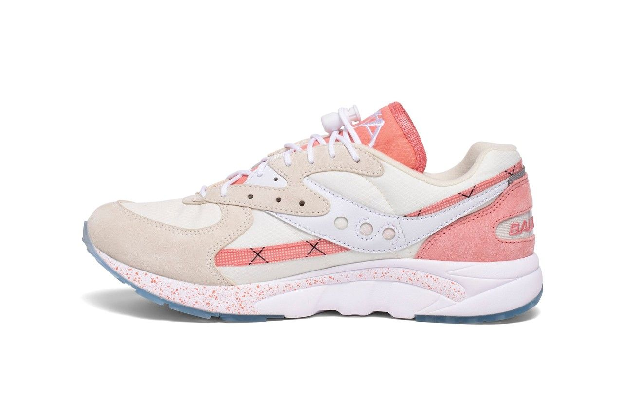 Saucony Aya Peaches and Cream Left