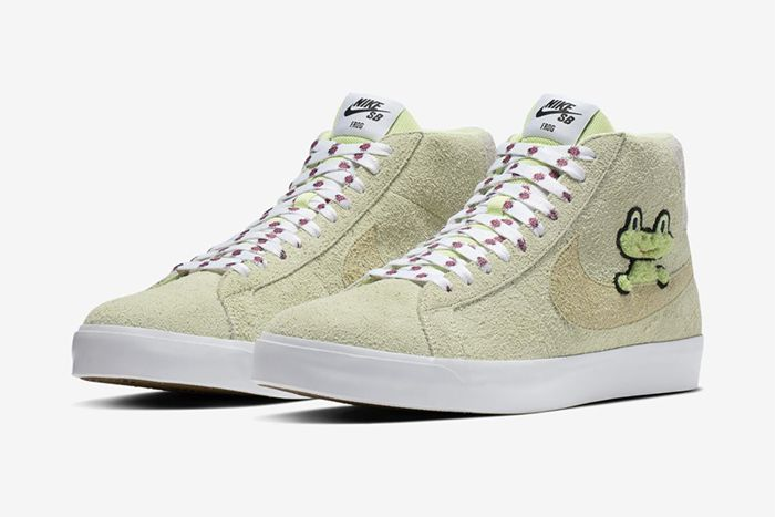 Frog Skateboards Nike Sb Zoom Blazer Mid Qs Both