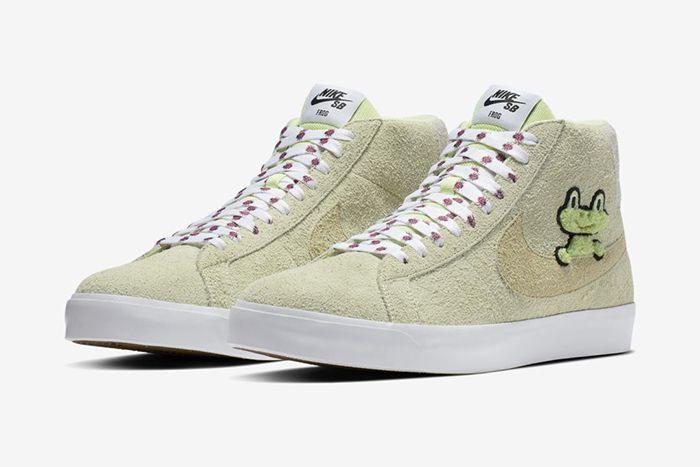 Frog Skateboards Nike Sb Zoom Blazer Mid Qs Both
