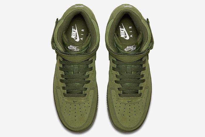 Nike Air Force 1 Mid Olive5