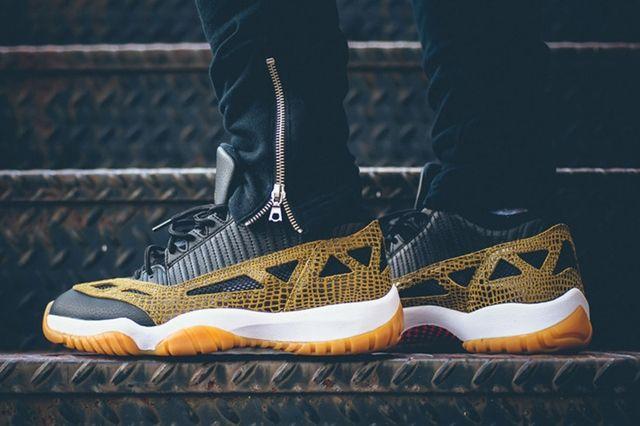 Air Jordan 11 Ie Low Snakeskin 4