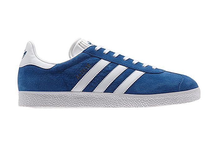 Adidas Gazelle Vintage Suede Core Blue 2