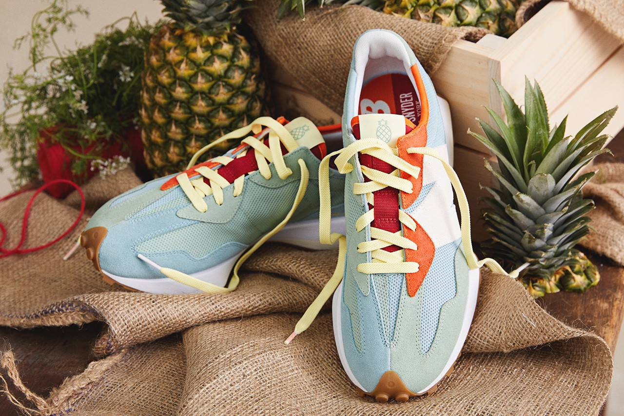 Todd Snyder x New Balance 327 Farmers Market Pineapple