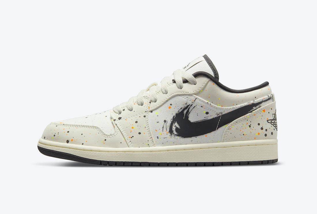 Air Jordan 1 Low 'Paint Splatter'