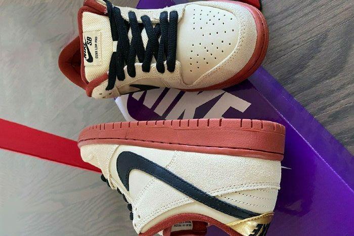 Nike Sb Dunk Low Muslin Bq6817 100 Release Date 1 Leak