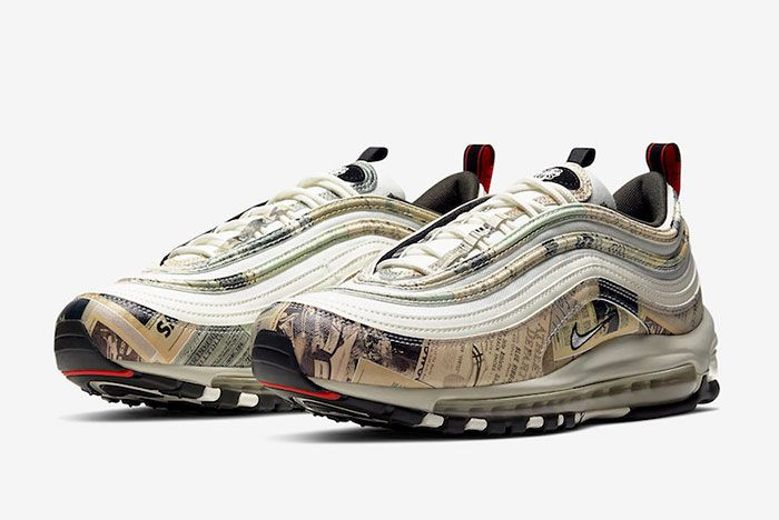 Nike Air Max 97 Newspaper 921826 108 Front Angle