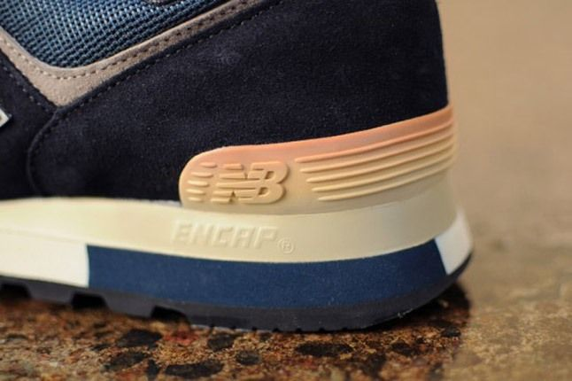 New Balance 576 Vintage Heel 1