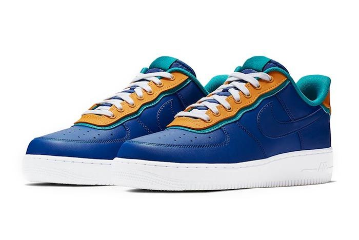 Nike Air Force 1 Low Indigo Force Pair