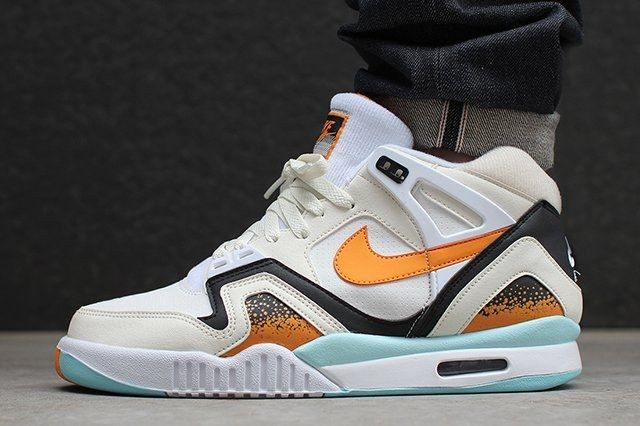 Nike Air Tech Challenge Ii White Kumquat1