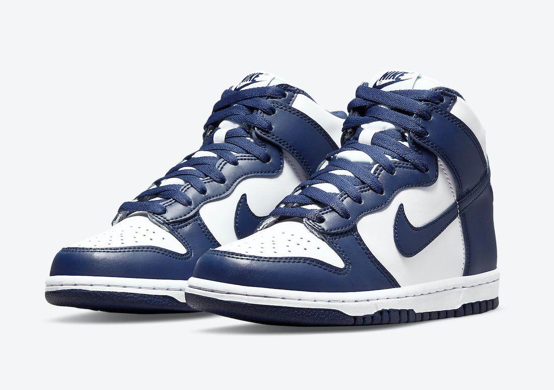 Nike Dunk High Navy