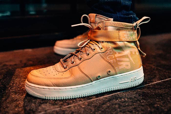 Nike Air Force 1 Sf Mid Mushroom 4
