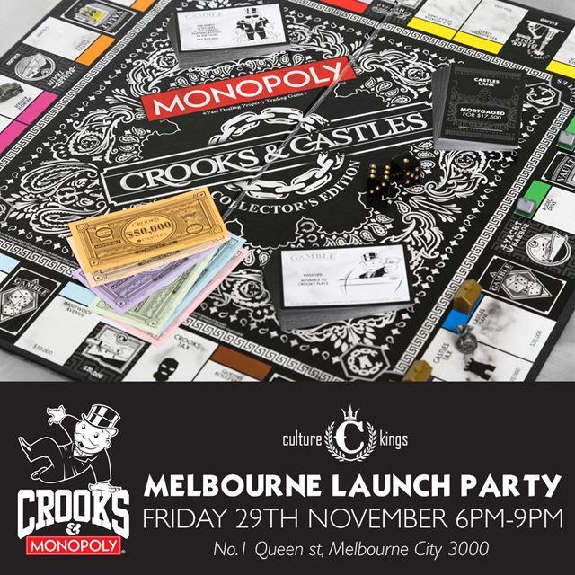 Crooks X Monopoly Square