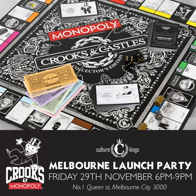 Crooks X Monopoly Square
