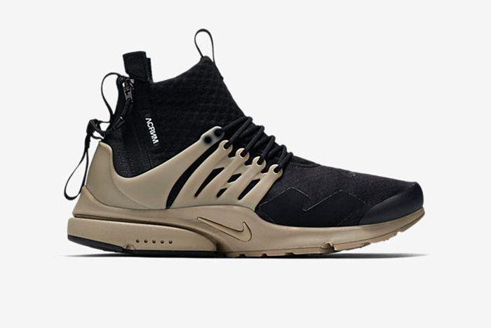 Acronym Nike Air Presto Mid Black Bamboo 1