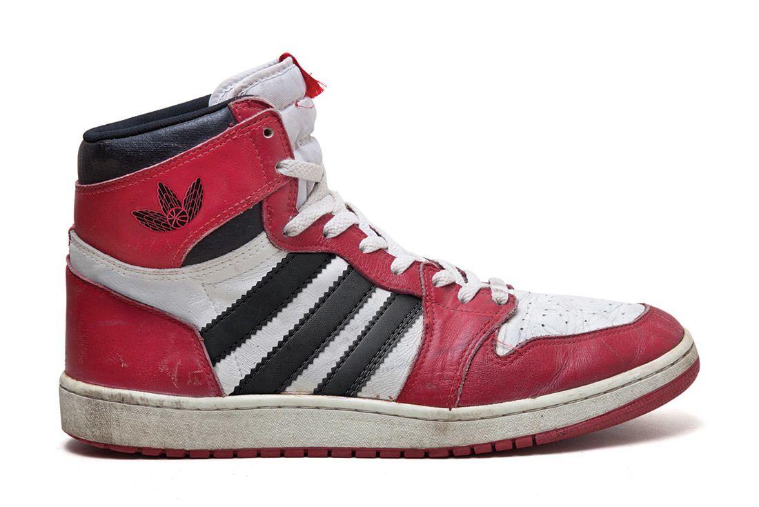 Jordan Adidas Shoe 2 White