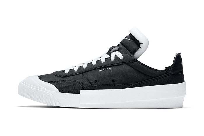 Nike Drop Type Lx Black White Av6697 003 Release Date Lateral