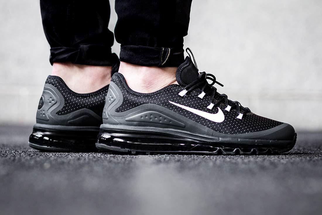 Nike Air Max More Triple Black 1