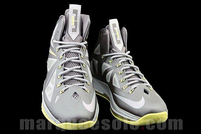 Nike Lebron Silver Sneaker 1