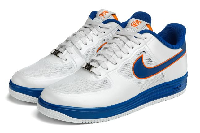 Nike Lunar Force 1 Medicom White Pair 1