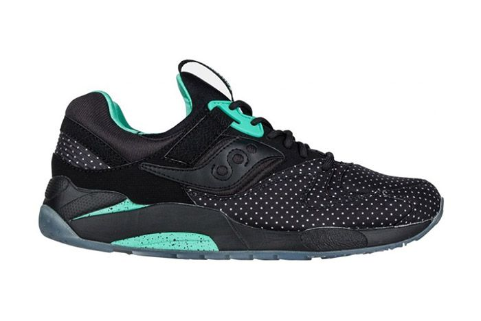 Saucony Grid 9000 Micro Dot Black 3