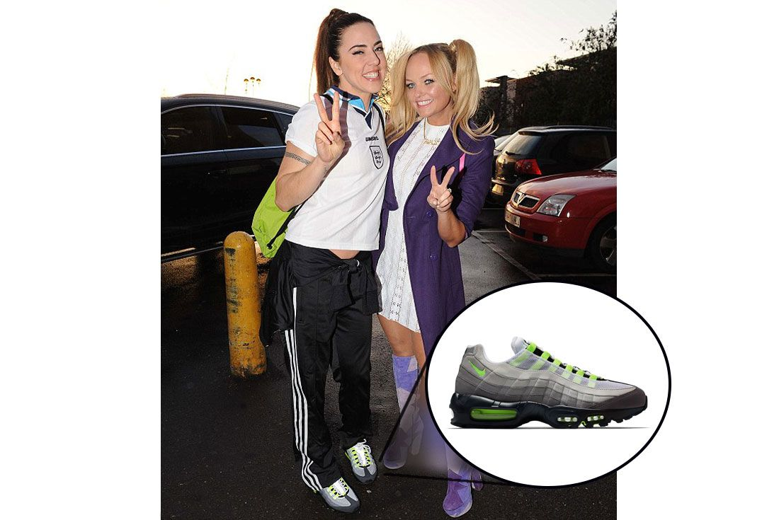 Spice Girls Sporty Spicenike Air Max 95