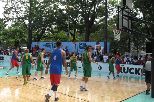 World Basketball Festival Rucker Park 9 2