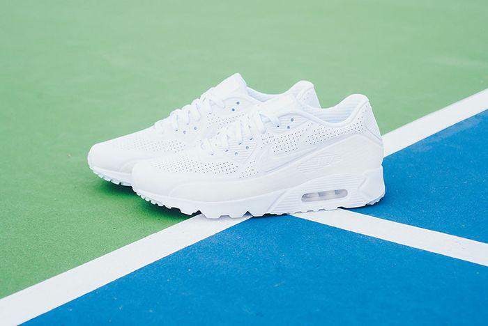 Nike Air Max 90 Ultra Moire Triple White 6
