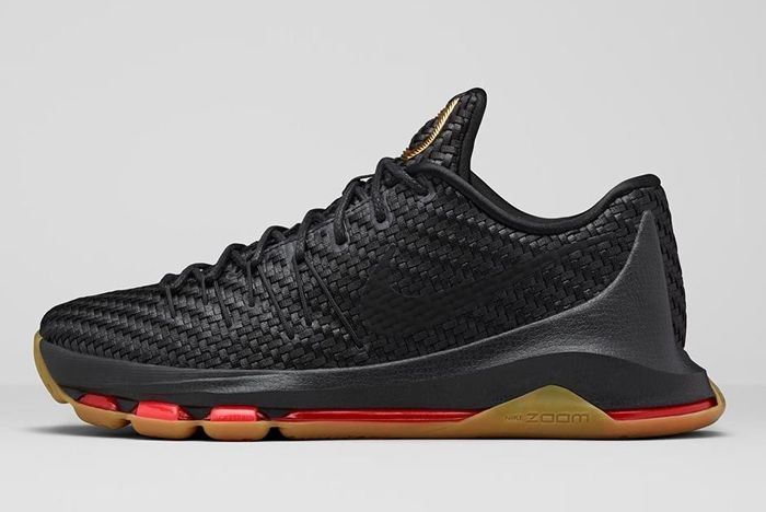 Nike Kd8 Ext Gold Black Woven Bump 6