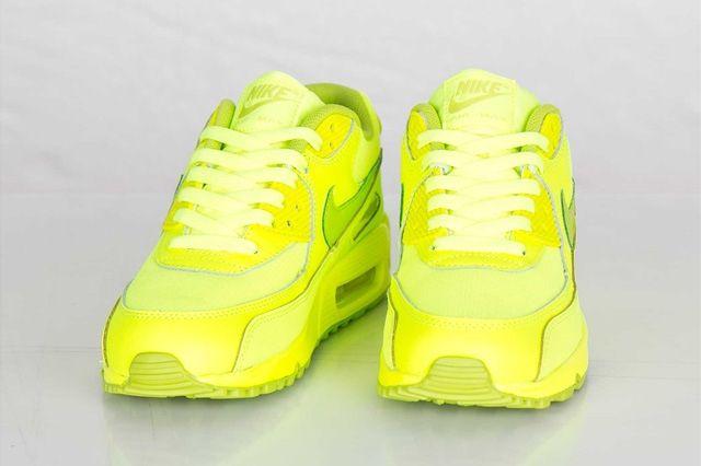 Nike Air Max 90 Gs Volt Fierce Green 1