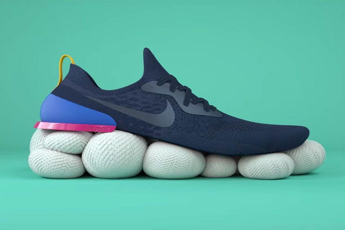 Material Matters Nike React 12