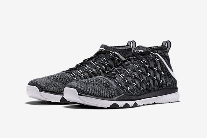 Nike Train Ultrafast Flyknit Black White 3