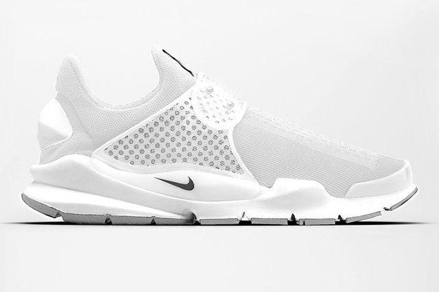 Nike Sock Dart White1