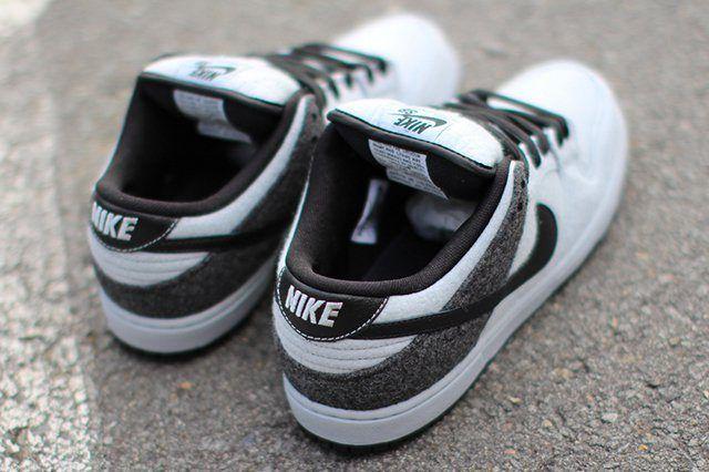 Nike Dunk Low Prm Sb Wolf Grey Wool