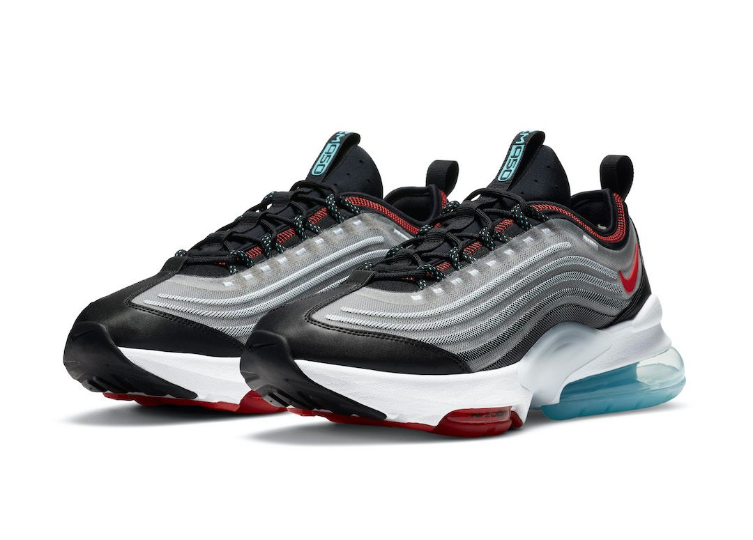 Nike Air Max ZM950 Silver Angled