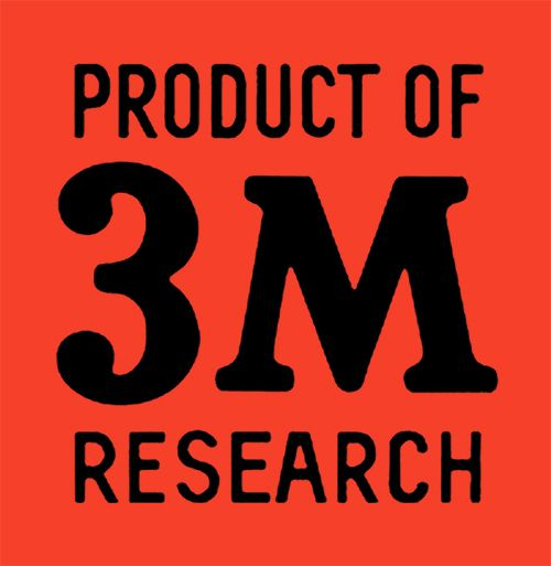 3M Logo Red Square