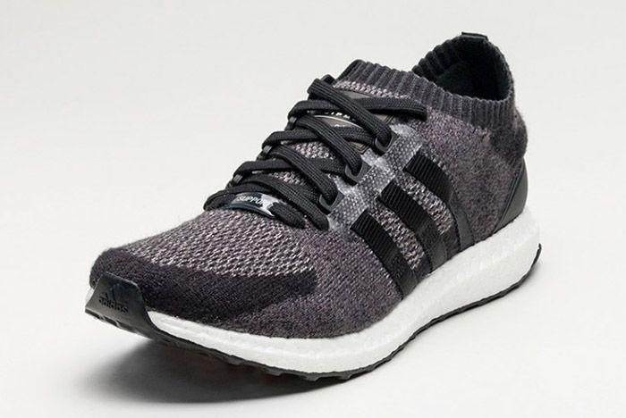 Adidas Eqt Support Ultra Primeknit Boost Black 2