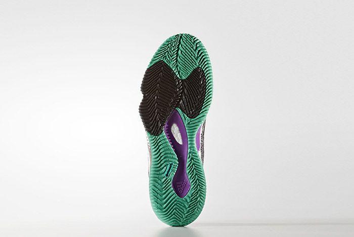 Adidas Crazylight Boost Black Shock Purple 5