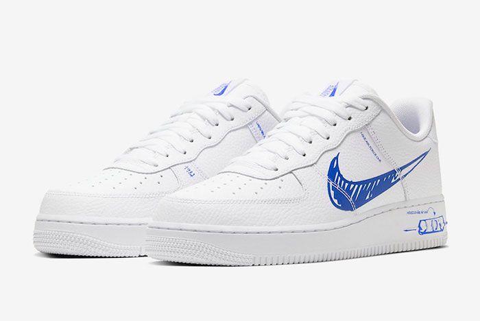 Nike Air Force 1 Sketch To Shelf Toe