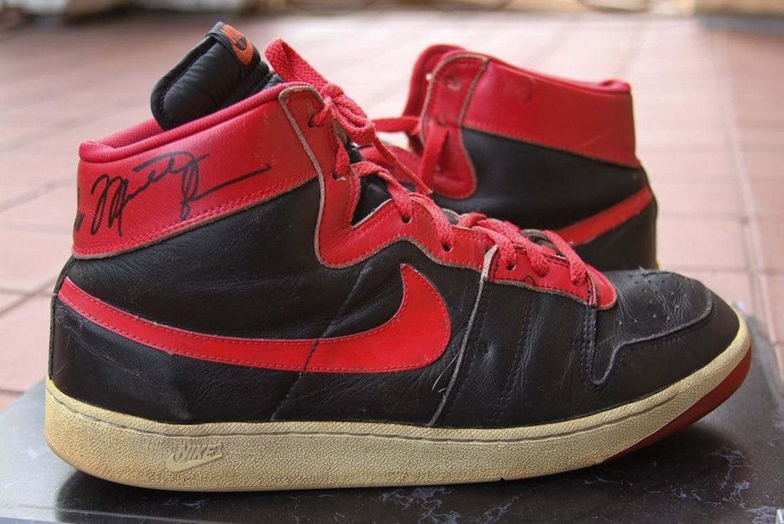 Nike Air Ship 1984 Banned Michael Jordan Lateral