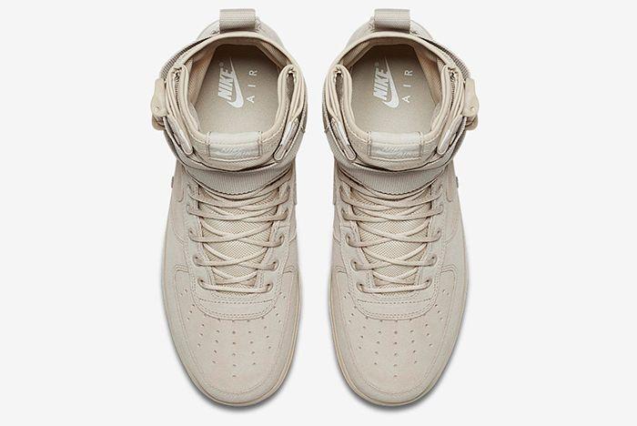 Nike Sf Air Force 1 Tan 5
