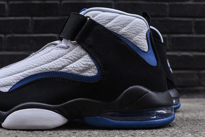 Nike Air Penny Iv White Black Atlantic Blue