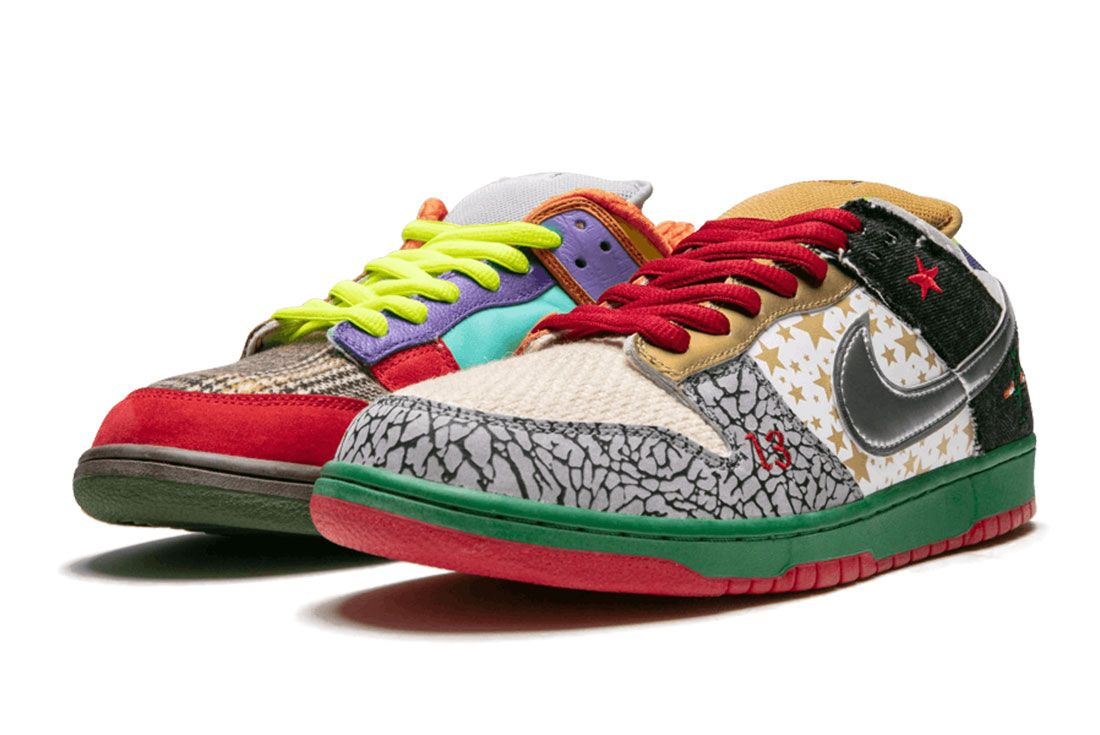 Nike Sb What The Dunk Pair