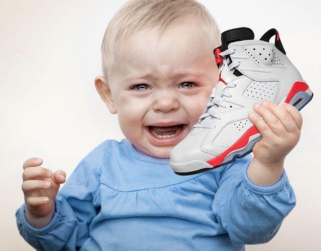 Baby Wants Jordans