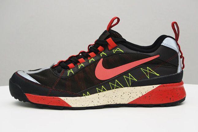 Nike Newmara Black Red Profile 1