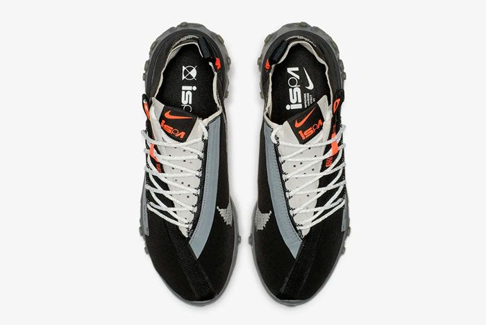 Nike Ispa React Low Black Top