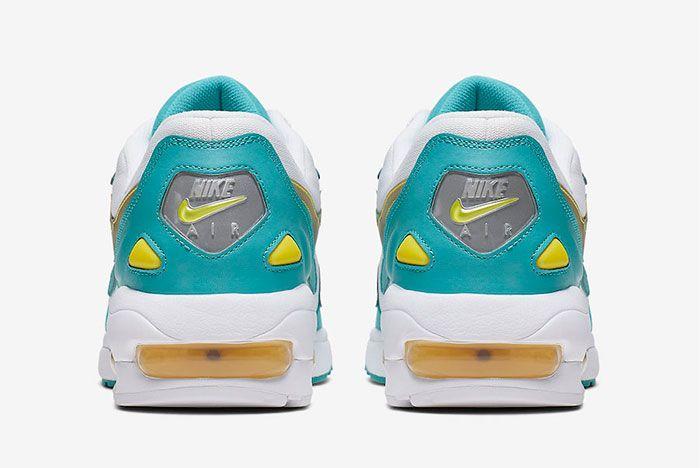 Nike Air Max2 Light Teal Nebula Heel