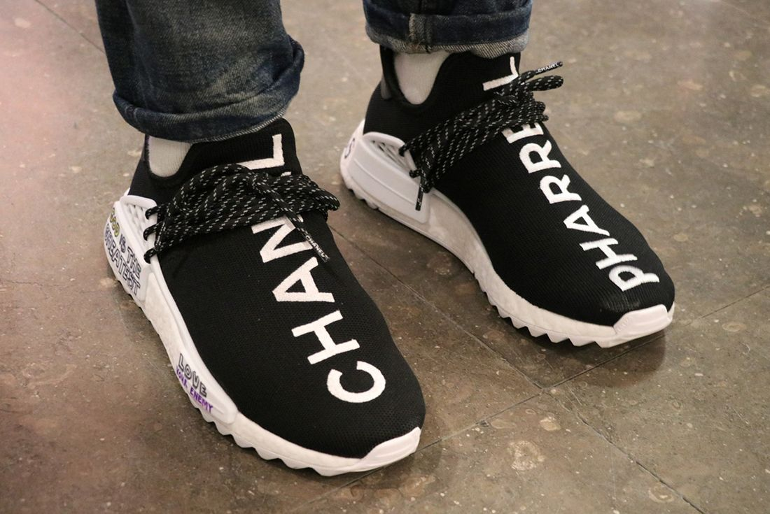 Chanel X Pharrell X Adidas Hu Nmd Sneaker Freaker 2