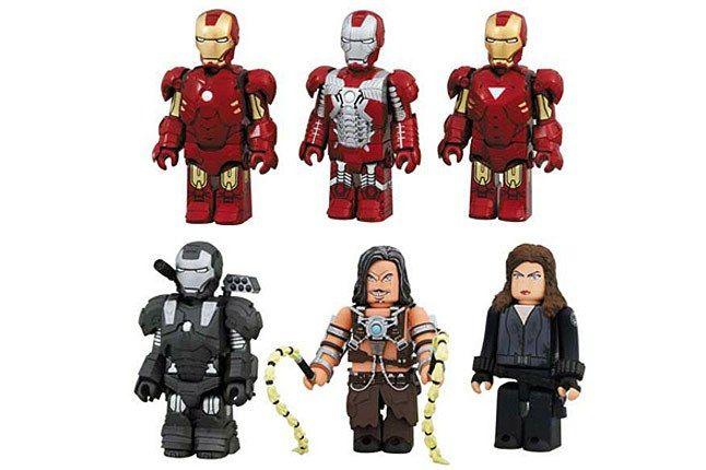 Iron Man2 Kubrick Set 3 1