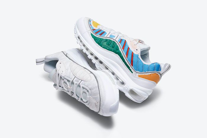Nike Air Max 98 Tear Away Cj0634 101 Detail