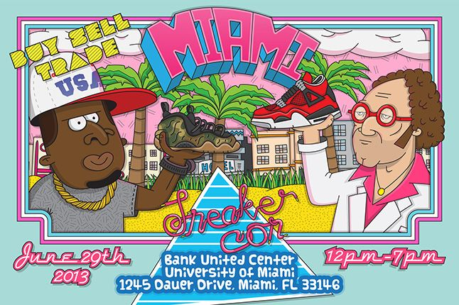 Sneaker Con Miami Flyer June 29 1